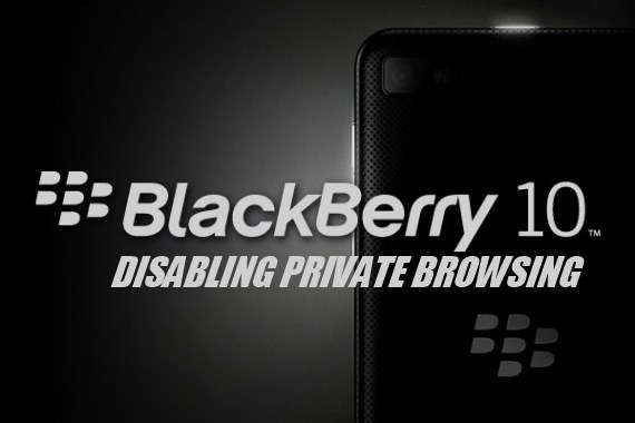Blackberry 10 - Hollywoodbets - Disabling Private Browsing