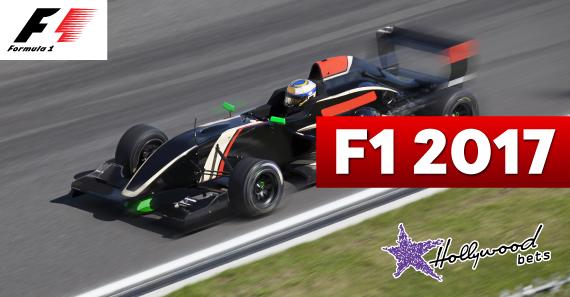 Formula 1 Car Drives on Track