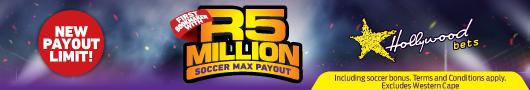 R5 million payout