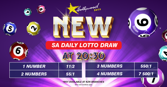 Lucky Numbers - SA Daily Lotto Draw