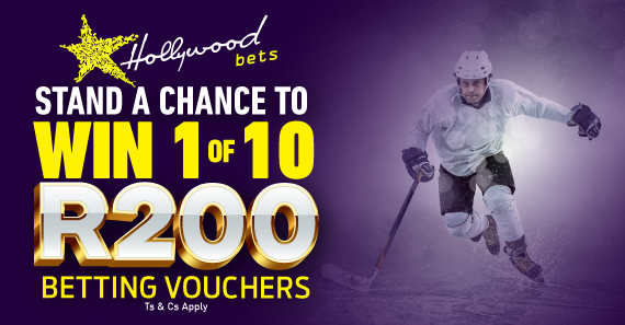 Win 1 of 10 R200 betting vouchers