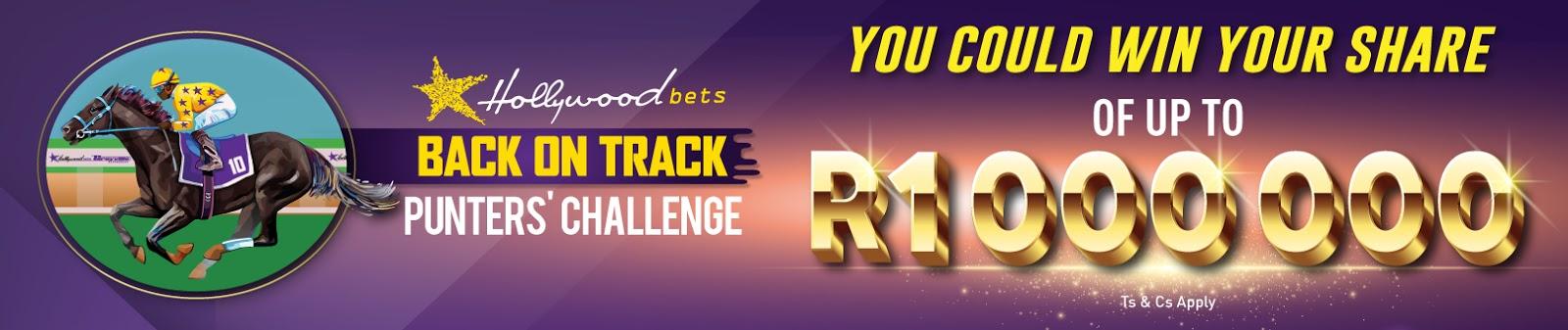Hollywoodbets Back on Track Punters' Challenge
