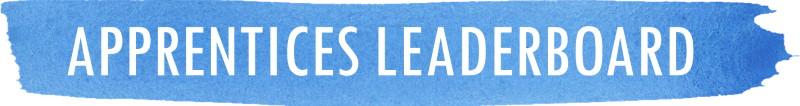 Apprentice leaderboard