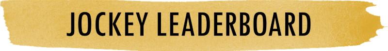 A Jockey Leaderboard