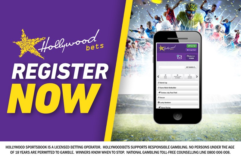 Register Now with Hollywoodbets Mobile