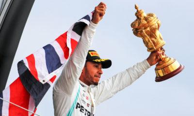 F1 Lewis Hamilton Silverstone