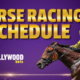 Daily Racing Schedule
