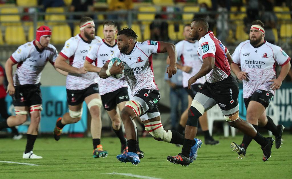 Vincent Tshituka of the Lions - URC